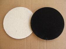 Disco feltro velcrato a strappo per lucidare marmi, graniti diametro da 125mm
