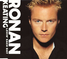 RONAN KEATING LOVIN' EACH DAY 2 TRACK CD SINGLE & VIDEO FREE P&P