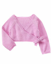 NWT Gymboree Ballet Class Cropped Cardigan Wrap Sweater 12 18