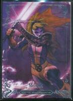 2018 Marvel Masterpieces Trading Card #35 Magik /1999