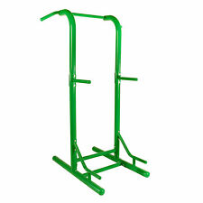 Stamina Products 65-1460 Steel Multi Use Outdoor Fitness Power Tower, Green