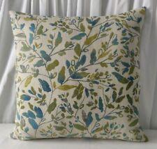 "**Sale*** VOYAGE 18"" Misley Sea Thistle Cushion Cover sea green blue Cream 45cm"