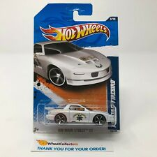 #3  Pontiac Firebird #163 * WHITE * Error Pink in Paint * 2011 Hot Wheels * HC5