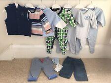 Baby Boys Clothes Bundle 0-3 Months