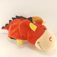 Flip a Zoo Ember Red Dragon Bei Bei Black White Panda Bear 2 in 1 Plush Stuffed