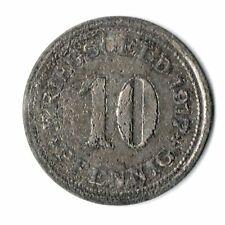 10 Pfennig Stadt Hörde / Westfalen 1917 Kriegsgeld Notgeld (ut20n7225)