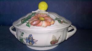 Villeroy und Boch Bouquet - Terrine mit Deckel / Ragout-/Suppenschüssel