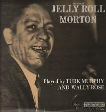 Turk Murphy and Wally Rose Ragtime M- LP ((Music of Jelly Roll Morton)