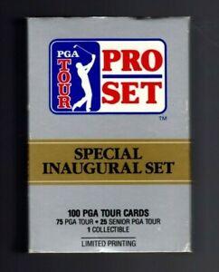 1990 PRO SET PGA GOLF TOUR COMPLETE OPENED FACTORY SET 1-100