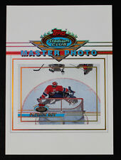 PATRICK ROY CANADIENS AVALANCHE 1993 STADIUM CLUB MASTER PHOTO HOF STANLEY CUP