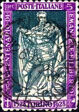ITALIA - Regno - 1928 - 400° nascita di Emanuele Filiberto e 10° Vittoria - 5 L.