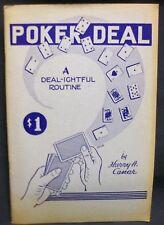 Poker Deal by Canar, Harry