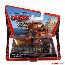 Disney Pixar Cars 2 Race Team Mater short card checklane