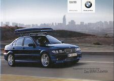 BM1218 BMW 3er Zubehör-Katalog 2004 Prospekt brochure accessories
