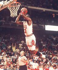 1990 MICHAEL JORDAN Chicago Bulls BASKETBALL ACTION Photo 8x10 PICTURE JORDAN V