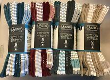 NEW!!  BISTRO KITCHEN TOWELS 8 PACK