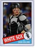 Zack Collins 2020 Topps 1985 35th Anniversary 5x7 #85-33 /49 White Sox