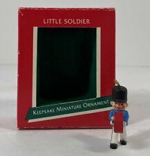 Hallmark Keepsake Miniature Ornament - Little Soldier, 1989
