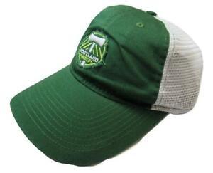 New MLS Portland Timbers Mens OSFA Adidas Snapback Trucker Style Hat
