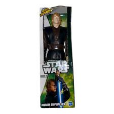 "Hasbro Star Wars Anakin Skywalker Figure with Lightsaber 12"" Original Box"