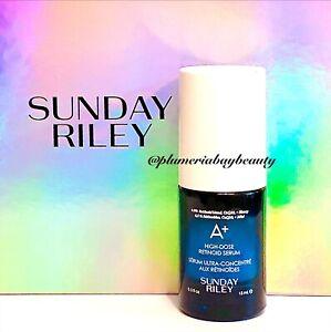 SUNDAY RILEY A+ High Dose RETINOID SERUM 15mL 0.5oz Retinol Night Treatment NEW