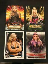 4 Natalya Topps WWE cards