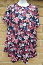 So Fabulous Polyester Floral Plus Size Dresses for Women