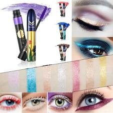 Sparkling Glitter Liquid Eyeliner Eyeshadow + Colorful Eyelash Mascara Set