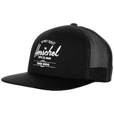 Herschel Whaler Mesh Snapback Cap Schwarz NEU