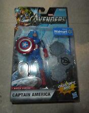 Marvel Los Vengadores Capitán América producto exclusivo de Walmart Base De Coleccionistas Figura Hasbro