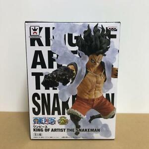 One Piece Monkey D Luffy Snakeman King of Artist Figure Banpresto Toy