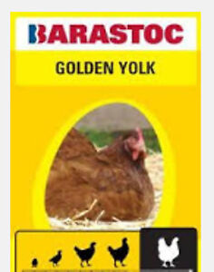 Barastoc Golden Yolk 20 kg , layer pellets, chicken feed, chook feed,