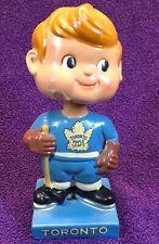 VINTAGE 1962 = TORONTO MAPLE LEAFS = Bobble Head  NHL HOCKEY Nodder JAPAN