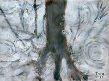 Terry George Pintura reflexionando sobre la lluvia, Norwich