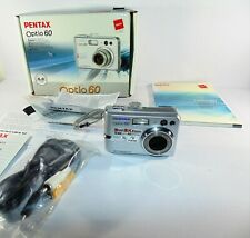 PENTAX Pentax Optio 60 6.0MP Digital Camera - Silver (HN)
