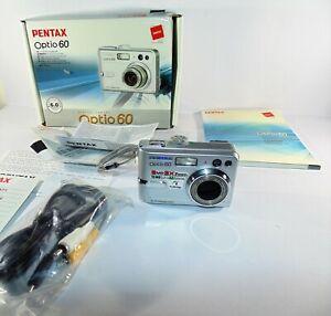 PENTAX Pentax Optio 60 6.0MP Digital Camera - Silver (HN)