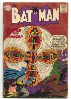 Batman 129 DC 1960 GD/VG Batwoman Bondage Origin Robin Brave Bold 28 Ad