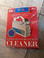 Allsop VHS-C Camcorder Compact Video Cassette Head Cleaning Tape