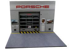 Diorama Garage German Car - 1/12ème - #12-2-F-F-001