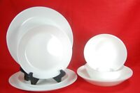 Ikea White Dinnerware 8 Pieces New With Tags Attached Service For 2