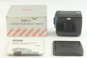 【Near Mint in Box】 Mamiya 645AF 120/220 Film Back HM401 from Japan #362