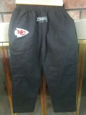 Vintage Zubaz Kansa City Chiefs NFL Football Pant Bottom Youth Medium Black 90s