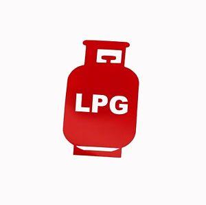 LPG STICKER, PACK OF 3 STICKERS, CARAVAN, MOTORHOME,HOME CRAFTING