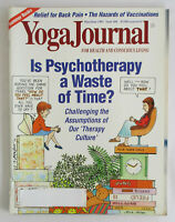 1992 Yoga Journal Magazine ANTI-VAXXER Vaccination Movement Psychotherapy 104