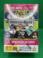 2020 Panini Rookies & Stars NFL Football BLASTER BOX TUA HURTS HERBERT BURROW RC