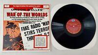 Orson Wells War of the Worlds LP Vinyl Broadcast Stereo 4001 Vintage