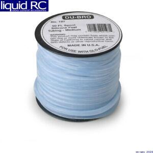 DU-BRO 197 Silicone Fuel Blue Tubing Medium 50