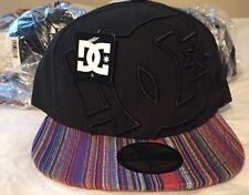 DC SHOES Black Coverage II New Era 59FIFTY 7 3/8 Fitted Hat Cap  New