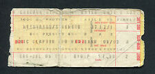 1975 Eric Clapton Santana Concert Ticket Stub Chicago There's One In Every Crowd