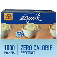 EQUAL 0 Calorie Sweetener, Sugar Substitute, Zero Calorie Sugar Alternative 1000